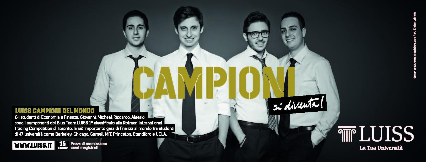 Campioni si diventa - RITC 2014