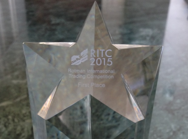 First Place - RITC 2015